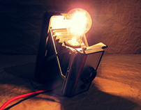 Polaroid Lamp DIY