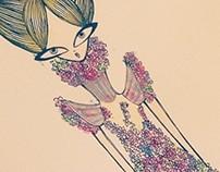 Alexander McQueen's Flower Dress