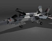 Contracted F-18 Splinter Design