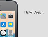 iOS 7 - Redesign.