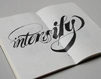 Carnets de dessins typos