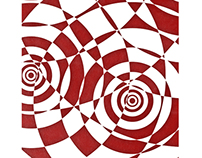 Geometrik (1/03) 13x19 Inch Abstract Print