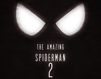 Minimalist Poster - The Amazing Spiderman 2