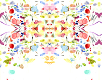 Textile print design 1