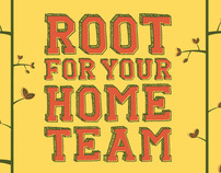 ARBOR DAY FOUNDATION - Root for your Home Team campaign