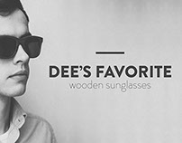BRANDING & DESIGN FOR WOODEN SUNGLASSES