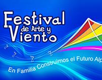 Animación Logo Arte y Viento