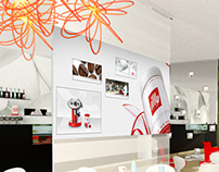 A conecpt store for illy coffee