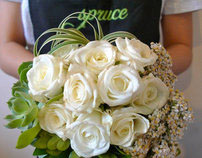 Spruce Floral Designs | Re-design Project
