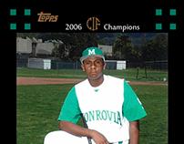 High School CIF Championship Baseball Card