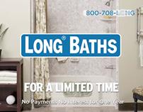 LONG Bath & Windows TV advertising