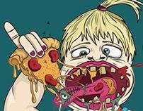Seven deadly sins calender | Gluttony