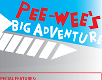 Pee-Wee's Big Adventure DVD Design