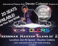ColeColors Cosmetics Flyers
