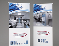 Helmer Trade Show Banners