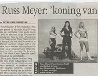 Eindhovens Dagblad: Russ Meyer 2003