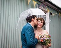 David and Elinor's wedding