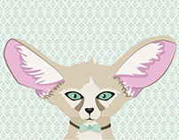 Fennec Fox Illustration