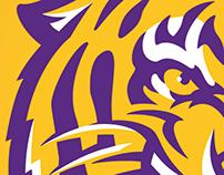 CONCEPT: LSU Tiger