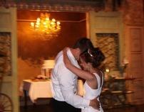 Matt and Magen Vainer wedding reception.