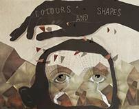"""KONOBA """"COULORS AND SHAPES"""" CD ARTWORK"""