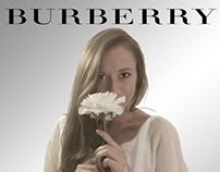 Mock-Up Burberry Advertisement