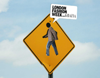 London Fashion Week with Grazia