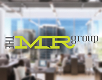 The MR Group logo and website design