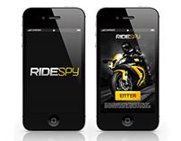 RideSpy App UI