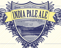 Indian Pale Ale Label
