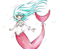 metamorphosis (sundae - mermaid) (2012)