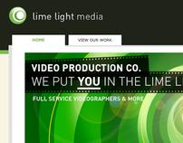Mini-site for Lime Light Media