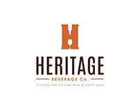 Logo Design for Heritage Beverage Co.