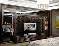 @Mr. Abiyasa, Master bedroom, Bintaro, Jakarta