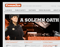 CommSys Website Redesign