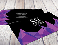 Sofia May Business card