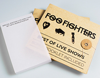 Foo Fighters CD/DVD cases