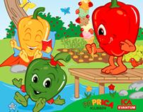 Children's magazine for Papricaklubben