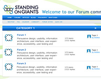 Simple Landing Page Forum