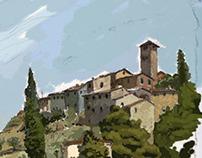 Italy, Toskana, Petrabuona
