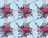 Wallpaper pattern design 17 Edouard Artus ©2013