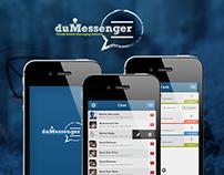DuMessenger Mobile App