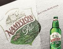 NAMYSŁÓW Pils Beer  |  Client Browar Namysłów