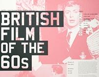 British Film of the 60's