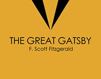 Great Gatsby Book Cover Design