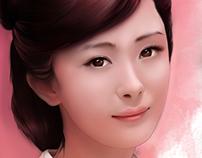 Digital Painting_Water color_杨幂