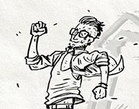 Run Hipster Run!!!