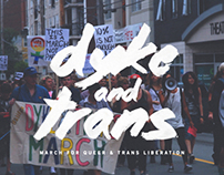 Dyke and Trans March