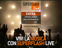 Communication proposal - Superflash Live Banca Intesa