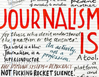 Journalism Review Cover